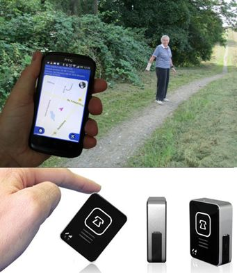 GPS Care Tracker Mini (nøglevedhæng)