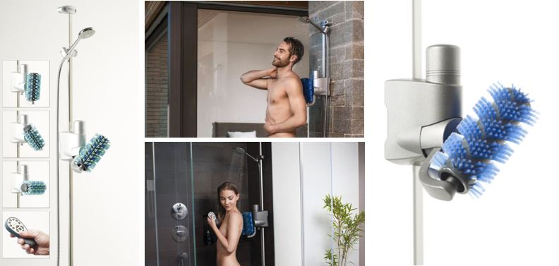Aglaja Automatisk Roterende Badebørste