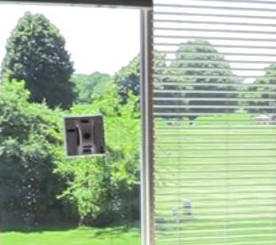 Vinduespudserrobot Hobot 268 højt vindue