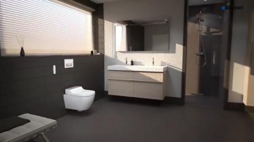 Geberit AquaClean Tuma Comfort Douchetoilet - interiør